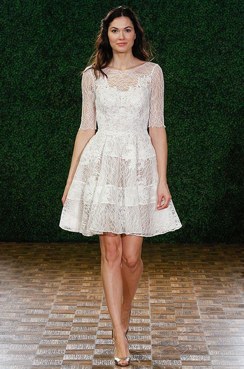 Such A Cute Short Dress For Wedding Rehearsal Watters Spring 2015