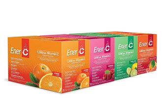 Ener-C: The tastiest, natural vitamin drink on the planet, flavoured with real fruit powders. With over 25 vitamins and minerals, featuring 1000mg vitamin C in the bioavailable form of mineral ascorbates. Ener-C also has vitamin A, E, and iodine - Ener-C is great for immunity, electrolytes and of course, an all-natural boost of energy.