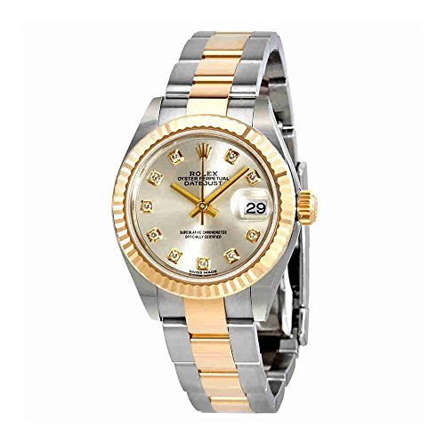 Rolex Lady-Datejust Silver Diamond Dial Automatic Ladies Watch 279173SDO -- You ...