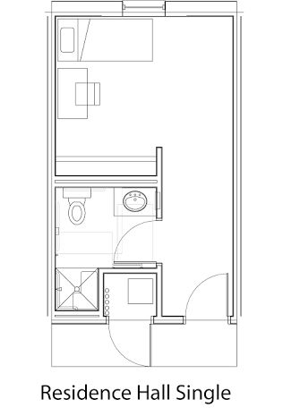 Single Dorm Room Layout   Google Search Part 68