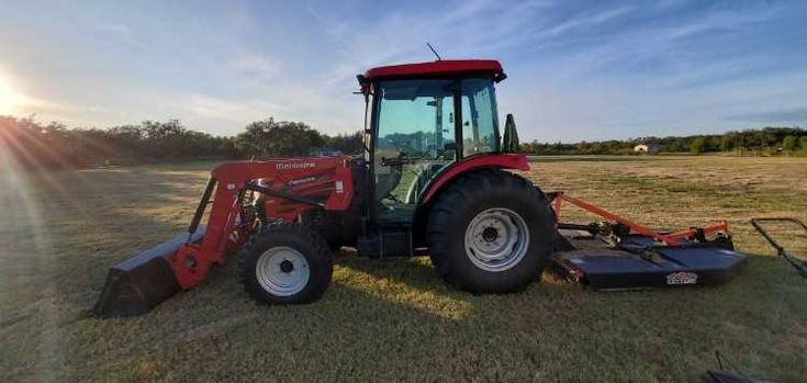Tractor mowing in corpus christi2C and surrounding areas