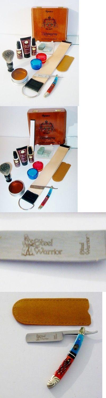Shaving and Grooming Kits and Sets: Sale Shaving Set - Little Steel Warrior Straight Razor Art Of Shaving Kit -> BUY IT NOW ONLY: $54.99 on eBay!