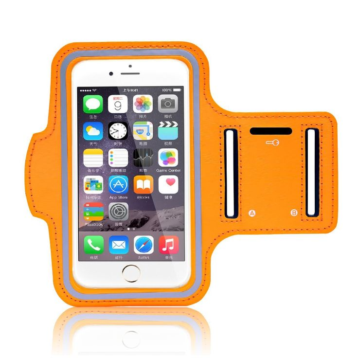 Minisuit Sporty Armband Running Gym Mobile Phone Running Cover Arm Band for Iphone 6 /6s. (Orange). BLOCKS SWEAT & RAIN - GUARANTEED: The No1 complaint with other armbands is that sweat can damage your phone. NO MORE!! Our advanced sports armband has the latest water blocking design that will stop sweat from getting to your phone. Watch as rain runs off the running belt with its waterproof zipper and extra security, water resistant inside lining. Dont risk your $$$ Smartphone, Treat…