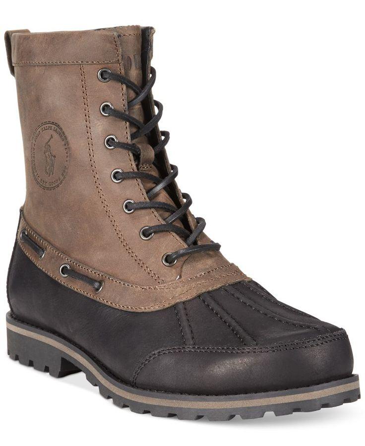 Polo Ralph Lauren Whitesand Duck Boots - Boots - Men - Macy's