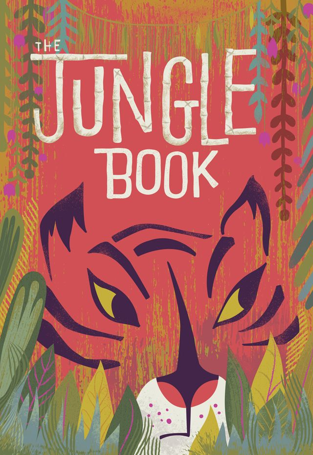 The Jungle Book illustration by Jill Howarth