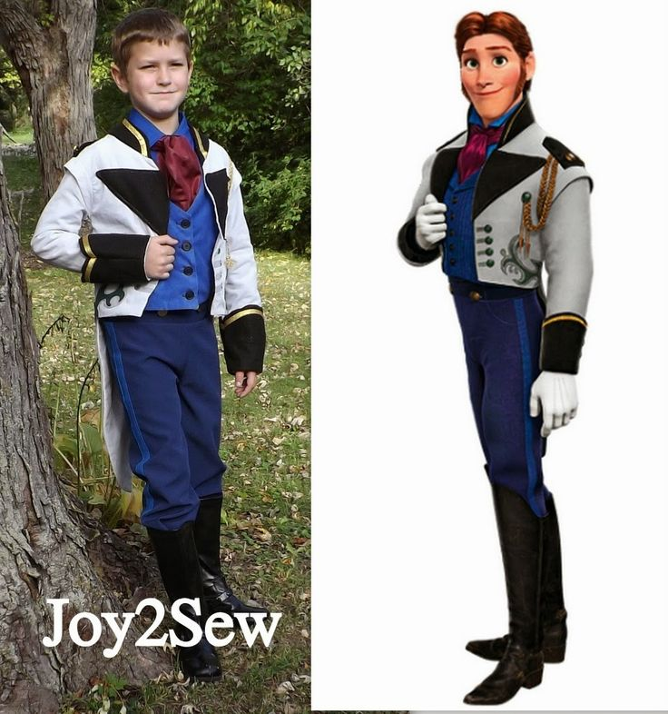 Joy 2 Sew: Hans Frozen Costume Tutorial