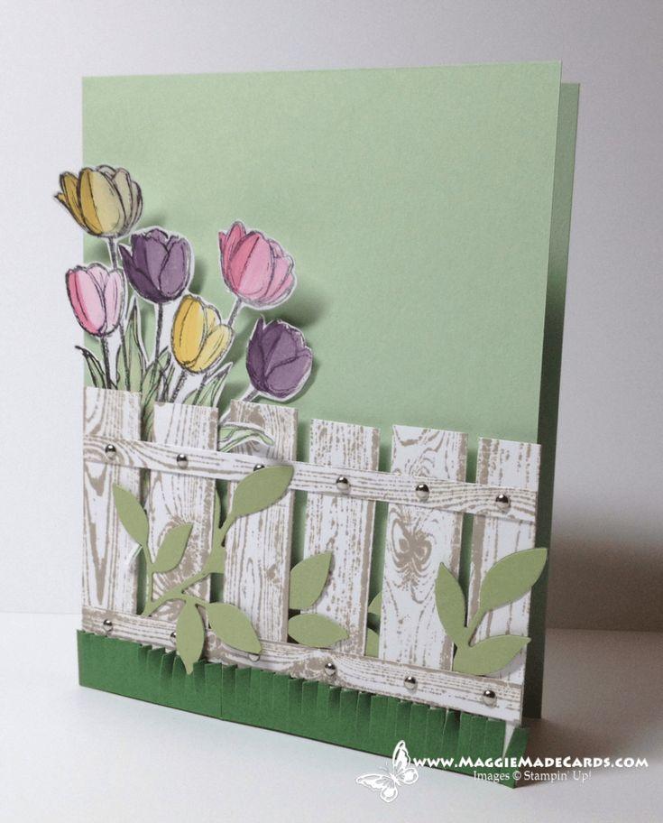 Открытка своими руками к весне