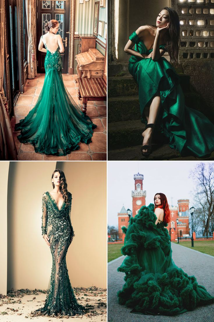 The Color of Nature – 20 Refreshingly Beautiful Green Gowns!