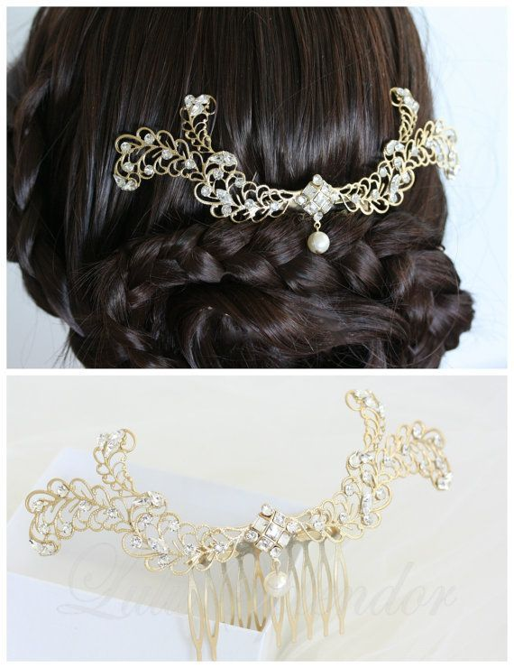 4 new bridal hair comb collection