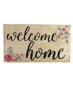 Welcome Home Doormat 70x40cm.