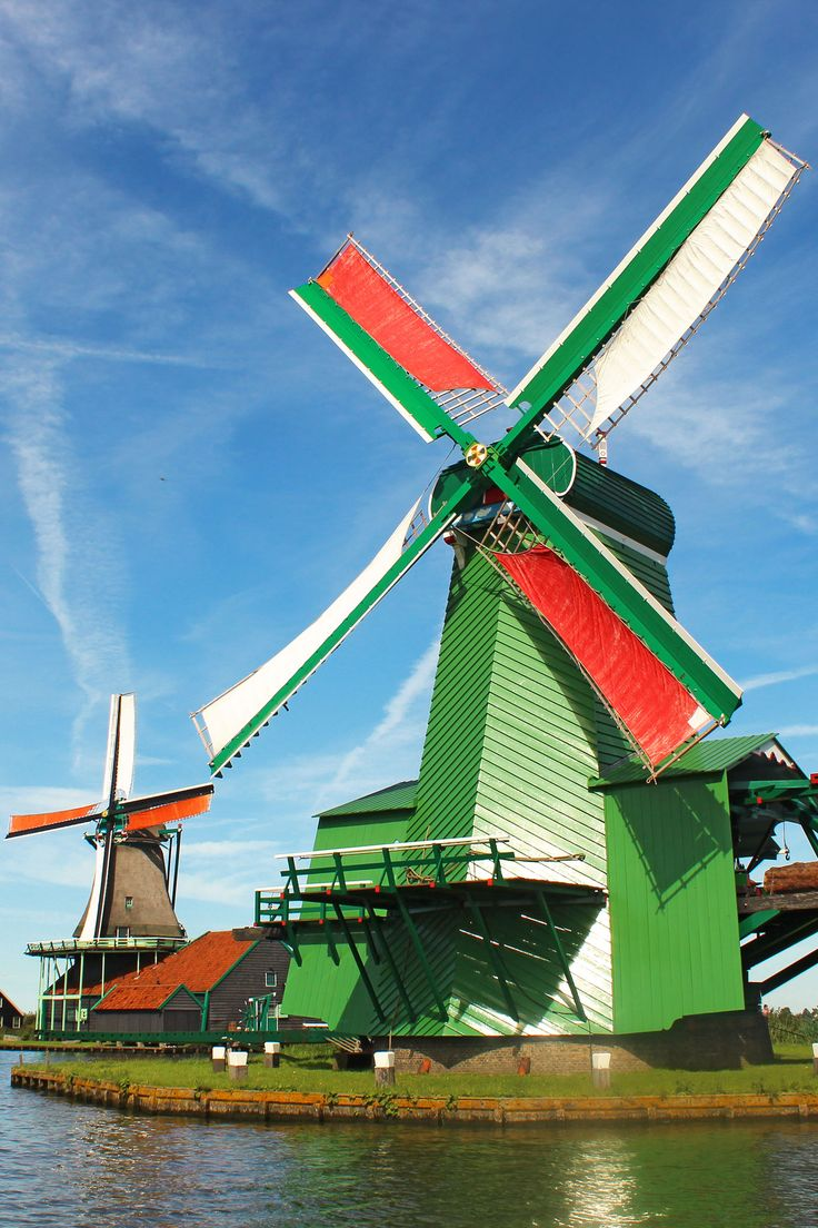Zaanse Schans Windmills: Day-Trip from Amsterdam | Green and Turquoise