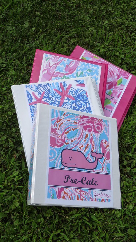 DIY Preppy Binder Covers (Back to school series) | Belleoftheball45 | Bloglovin'