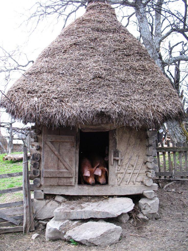 Old cage for pigs - Preluca Noua, Maramures (Casa veche pentru cei ce traiesc pana la un an...)