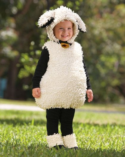 Little Lamb Childrens Costume via Terrific Toddler Halloween Costume Ideas