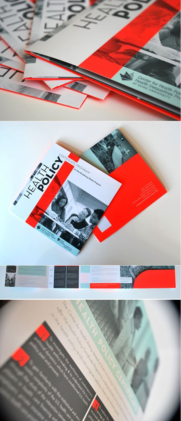 creative corporate brochure design  1pms + K