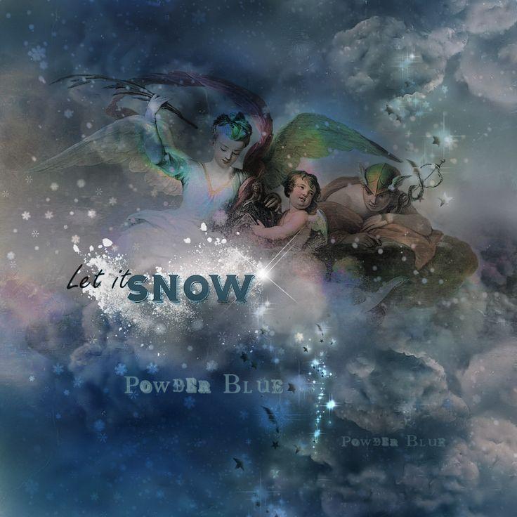 Using itKuPiLLi_SnowStorm & itKuPiLLi_PowderSnow & Powder Blue'-ItKuPilli ,  by Kirsi Iggy Rouvinen https://www.mischiefcircus.com/shop/product.php…