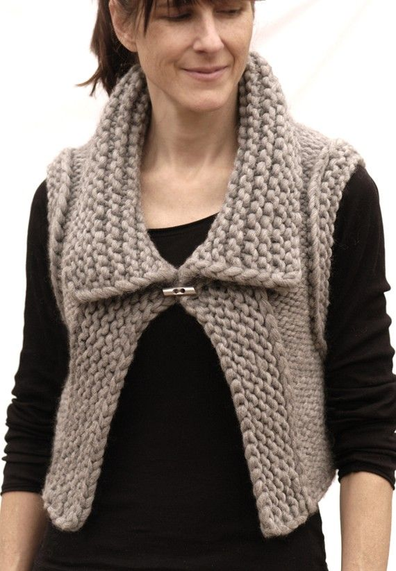 the October Vest PDF Pattern by karenclements on Etsy, $6.50