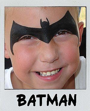 A different take on batman face paint