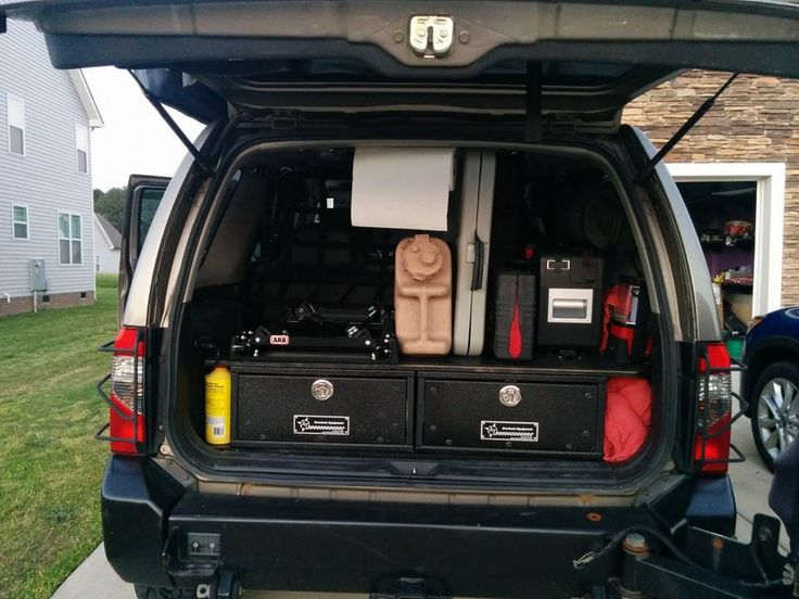 Xterra Storage Boxes Lets See Yours Expedition Portal