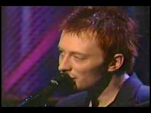 Radiohead - High And Dry (Live Jools Holland 1995) (High Quality video) (HD) - YouTube