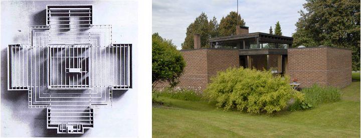 Fredete boliger og anlegg, tegnet av Sverre Fehn - Riksantikvaren