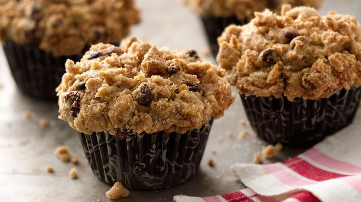Gluten-free chocolate chip cookie dough plus bananas mix up into some tasty homemade muffins.