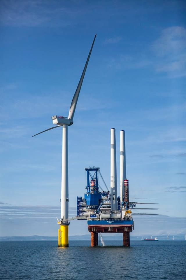Ship Photos of the Day - World's Biggest Wind Turbine Installed