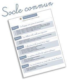 Tous les objectifs du socle commun et des programmes pour le cycle 2
