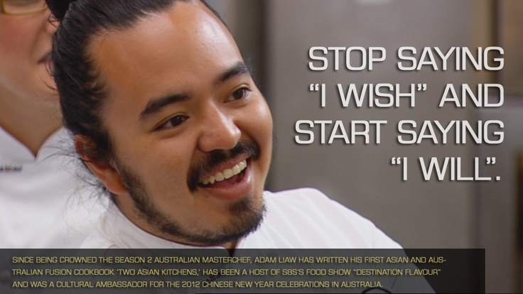 """Since being crowned the Season 2 Australian MasterChef, Adam Liaw has written his first Asian and Australian fusion cookbook 'Two Asian Kitchens,' has been a host of SBS's food show """"Destination Flavour"""" and was a cultural ambassador for the 2012 Chinese New Year celebrations in Australia. MAKE ADAM'S PRAWN SCOTCH EGGS: http://bit.ly/18Gpt4J"""