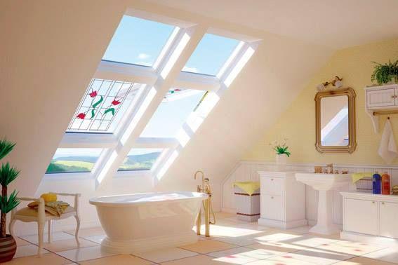più luce, meno umidità.  #casa #finestra #luce #bagno #benessere