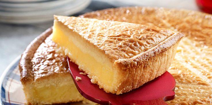 Gâteau basque à la fleur d'oranger