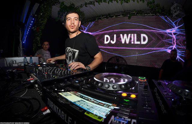 Dj Wild   ZOOK Electronic Music Photographer