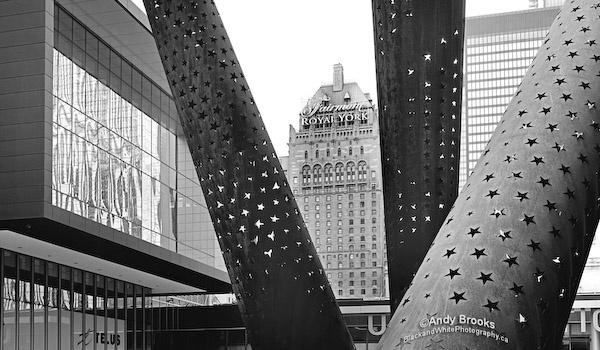 toronto architecture prints black and white