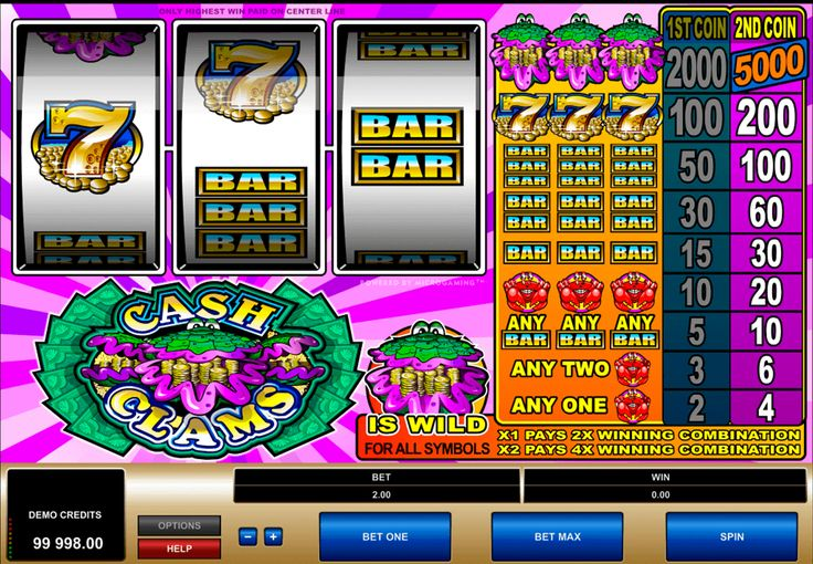 Jännittävä #Microgaming uhkapeli Cash Clams sopii pelaajille jotka tykkää älylliset slotit. Tässä pelissä sinä voit tuntea uhkapelin henki, ja voittaa hyvät rahat.