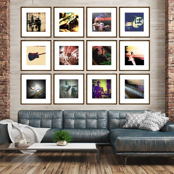 Extra Large Gallery Wall Grid Set Of 12 Art Prints With Images