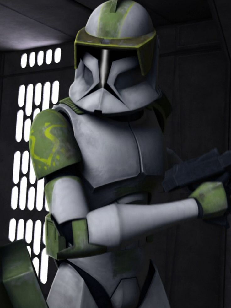 "CC-4142 (""Lock"") is a clone trooper captain"
