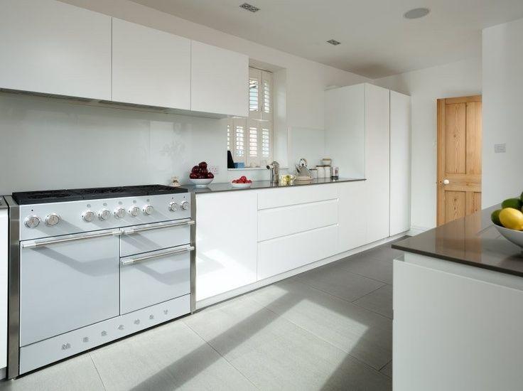 Best Range Cooker In White Handleless Kitchen Google Search 400 x 300