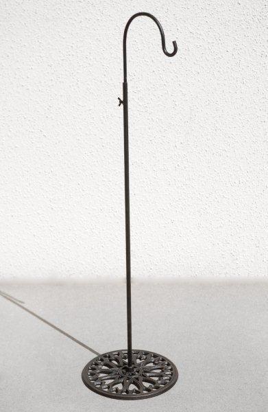 Free-standing shepherd hook - $20