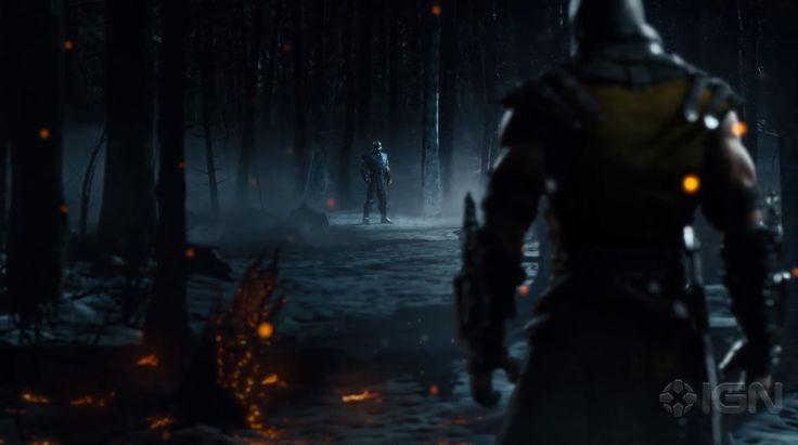 Mortal Kombat X - Scorpion vs Sub Zero