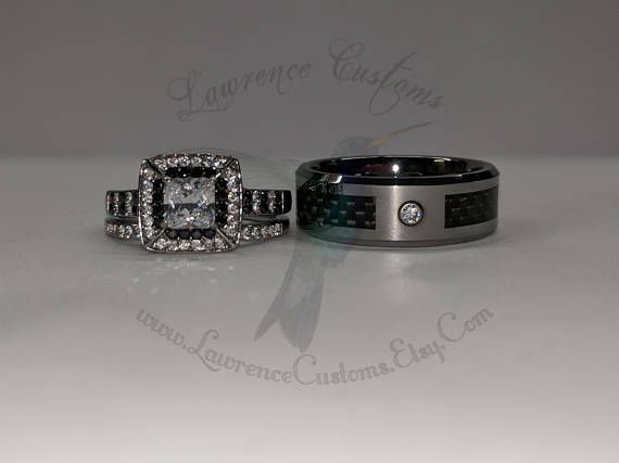 Hey, I found this really awesome Etsy listing at https://www.etsy.com/listing/575488481/black-and-white-diamond-simulant-halo