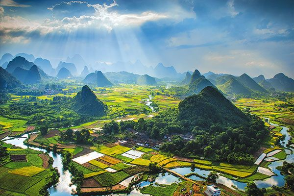 Guilin and its region  -- 10 best places to see in China!