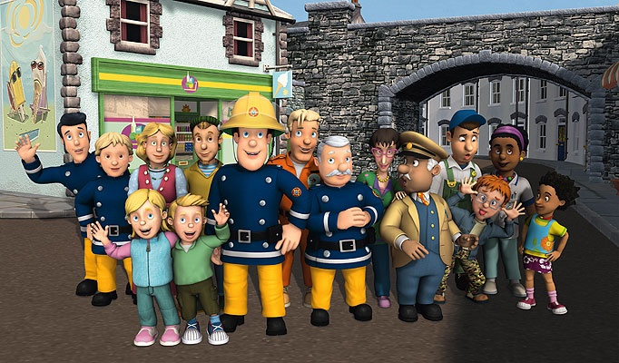 17 Best Images About Fireman Sam On Pinterest The