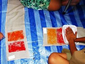 Art Relief International Volunteer Blog: Young Lions go batik crazy over India