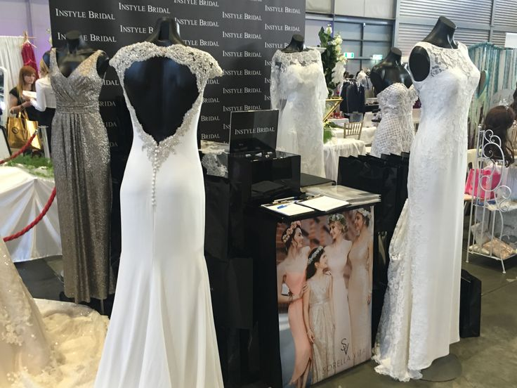We had a fabulous day @weddingexposaustralia #homebush yesterday, showcasing our latest #bridal #collection from #aroundtheworld #weddingexpo #weddingexposaustralia #bridal #show #weddingdress #bridesmaiddress #fashion #sydney #trending #picoftheday #pretty #sequins #sorellavita #stpatrick #milan #mirta #pronovias #omar #jacksullivan #sian #hannah #instylebridal