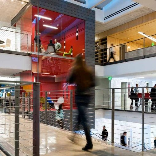 Moving From Santa Monica To Downtown Los Angeles Gensler Chose A Highly Visible Site For Its New Offices Here The Firms Values Are Embodied In