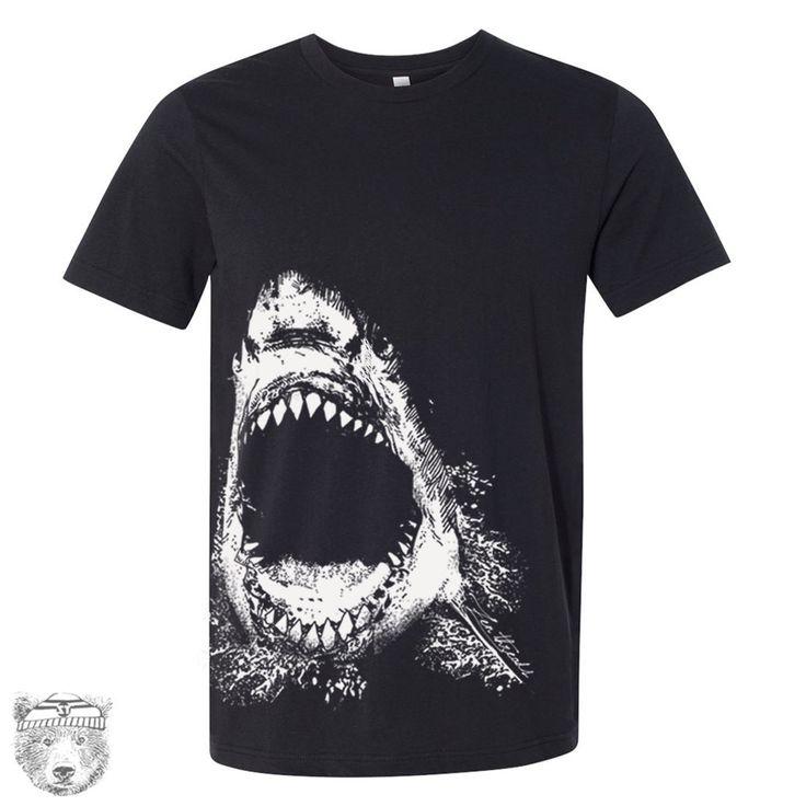 Mens SHARK T Shirt s m l xl xxl (+ Color Options)