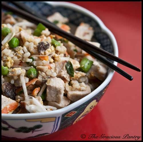 Clean Eating Pork Fried Rice (Click Pic for Recipe) I completely swear by CLEAN eating!!  To INSANITY and back....  One Girls Journey to Fitness, Health, & Self Discovery.... http://mmorris.webs.com/