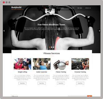 #BodyBuild is a #Free #FitnessWordPressThemes This beautiful & elegant WordPress Theme would be perfect for gym, yoga, spa & any form of business.