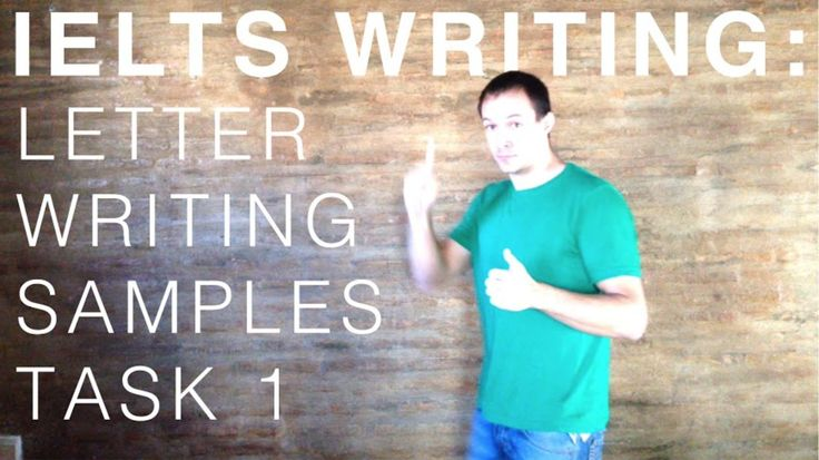 IELTS Letter Writing Samples  Now with additional examples and further reading!   In this quick tutorial video, we're going to look at some of the tips regarding IELTS General Task 1.  Letter writing is as much about conveying an idea as speaking, but in a more formal manner for which a record