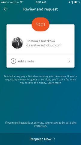 PayPal Screenshots
